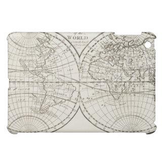 Studio shot of antique world map 3 iPad mini cases
