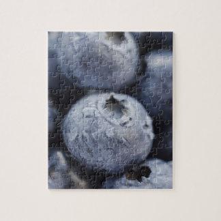 Studio shot of blueberries 2 puzzle