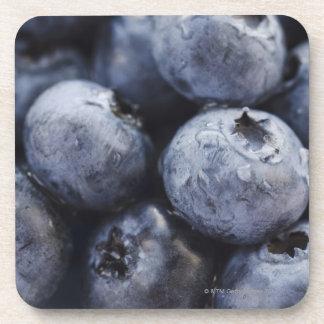 Studio shot of blueberries 3 coaster