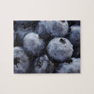 Studio shot of blueberries 3 jigsaw puzzle