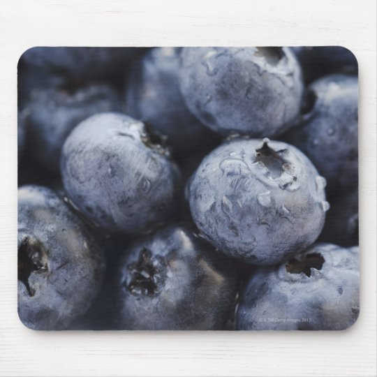 Studio shot of blueberries 3 mouse pad