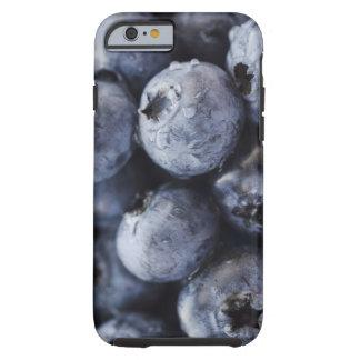 Studio shot of blueberries 3 tough iPhone 6 case