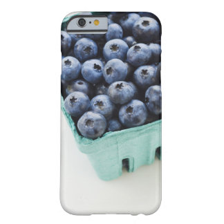 Studio shot of blueberries barely there iPhone 6 case