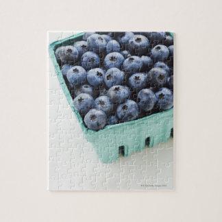 Studio shot of blueberries jigsaw puzzle