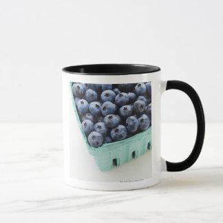 Studio shot of blueberries mug