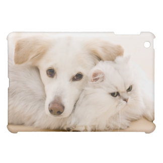 Studio shot of cat and dog case for the iPad mini