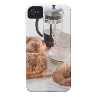 Studio shot of Croissants iPhone 4 Cover