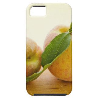 Studio shot of peaches iPhone 5 cases