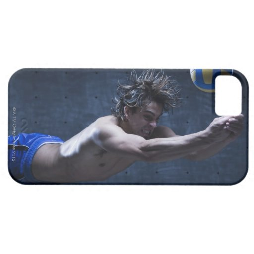Studio shot of volleyball player playing 2 blackberry bold case