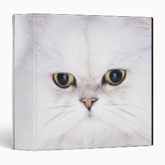 Studio shot of white Persian cat Binder