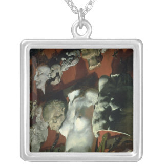 Studio Wall, 1872 Silver Plated Necklace