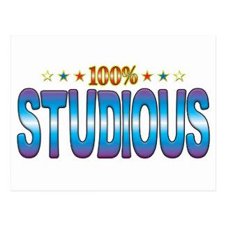 Studious Star Tag v2 Postcards