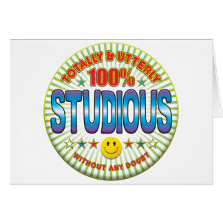 Studious Totally Card