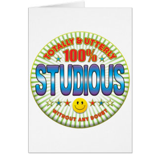Studious Totally Greeting Cards
