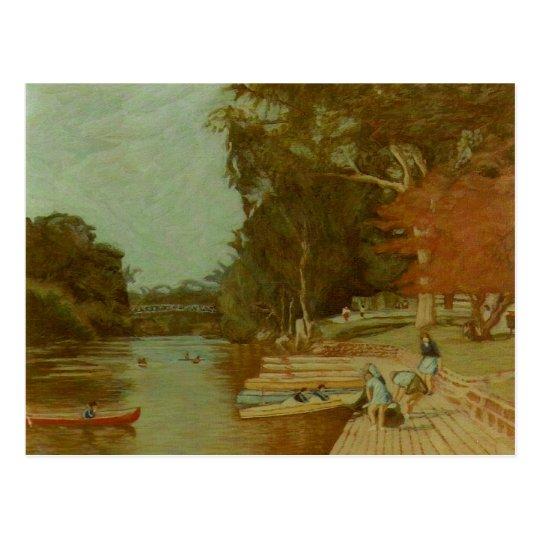 Studley Park Postcard