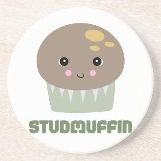 studmuffin beverage coaster