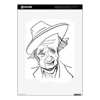 Studs Terkel iPad 3 Skins
