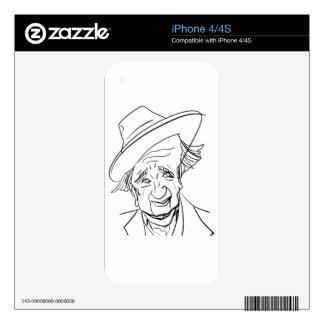 Studs Terkel Skins For iPhone 4