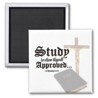 Study 2 Inch Square Magnet