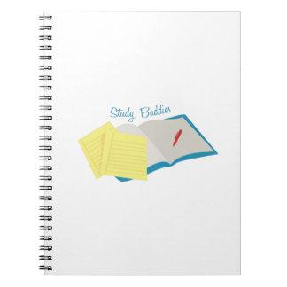 Study Buddies Spiral Note Book