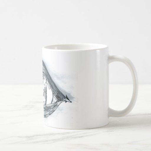 Study BW Eye. Classic White Coffee Mug