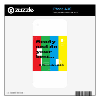 Study Decals For The iPhone 4S