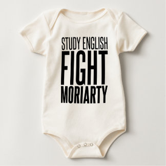 Study English, Fight Moriarty Romper