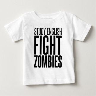 Study English, Fight Zombies Shirt