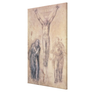 Study for a Crucifixion Canvas Print