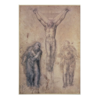 Study for a Crucifixion Poster