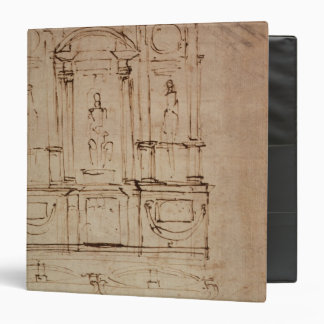 Study for a double tomb 3 ring binder