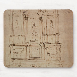 Study for a double tomb mouse pad