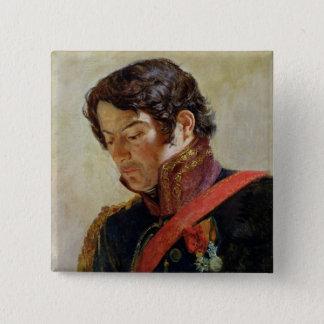Study for a Portrait of Baron Dominique Larrey Pinback Button