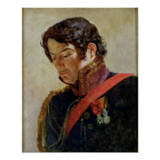 Study for a Portrait of Baron Dominique Larrey Poster