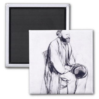 Study for a portrait of Manet Refrigerator Magnets