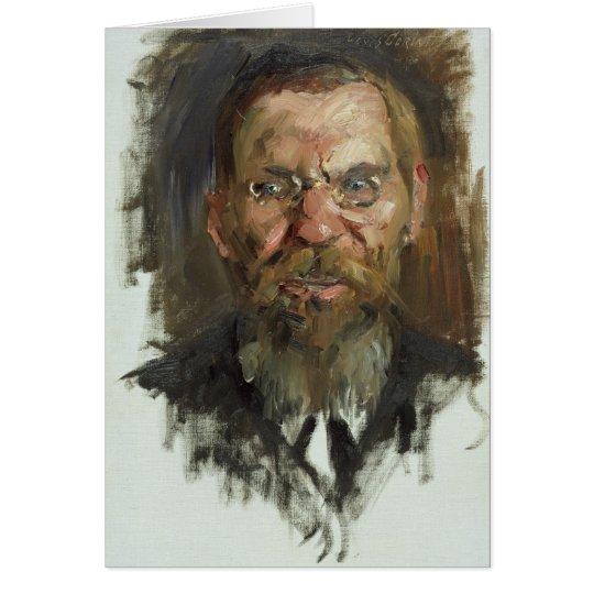 Study for a Portrait of Professor Dr. Eduard Card