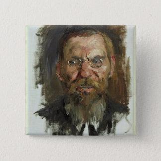 Study for a Portrait of Professor Dr. Eduard Pinback Button