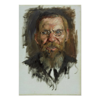 Study for a Portrait of Professor Dr. Eduard Poster