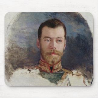 Study for a portrait of Tsar Nicholas II  1898 Mouse Pad