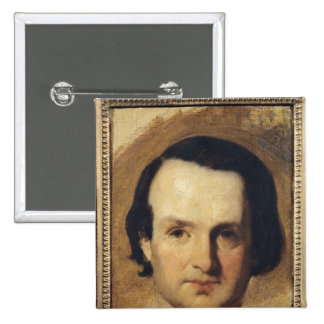 Study for a portrait of Victor Hugo  c.1836 Button