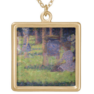 Study for 'A Sunday Afternoon on the Island of La Gold Plated Necklace