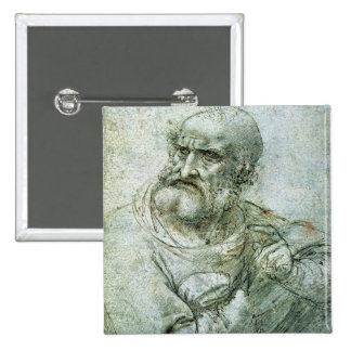 Study for an Apostle from The Last Supper, c.1495 Pinback Button