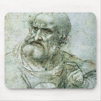 Study for an Apostle from The Last Supper, c.1495 Mouse Pad