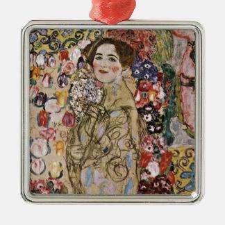 Study for Art Nouveau Woman Metal Ornament
