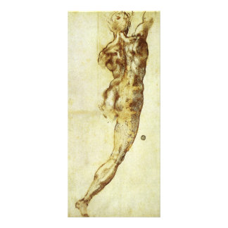 Study for Battle Cascina Michelangelo Renaissance Rack Cards
