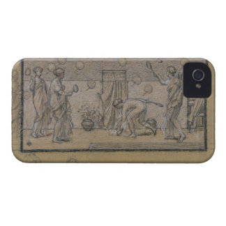 Study for Battledore and Shuttlecock, c.1871 (chal Case-Mate iPhone 4 Case