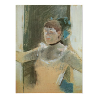 Study for Bust of a Dancer by Edgar Degas Poster