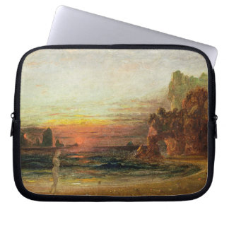 Study for 'Calypso's Grotto', c.1843 (oil on panel Laptop Sleeve