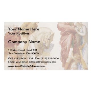 Study For Coriolanus by George Frederick Watts Double-Sided Standard Business Cards (Pack Of 100)