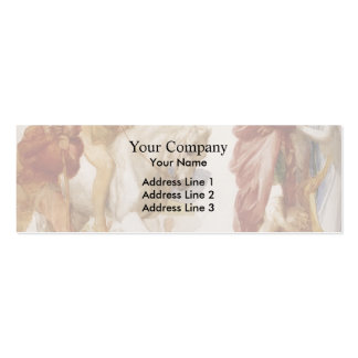 Study For Coriolanus by George Frederick Watts Double-Sided Mini Business Cards (Pack Of 20)
